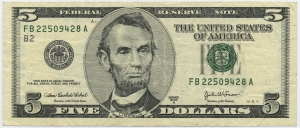 US_$5_series_2003A_obverse